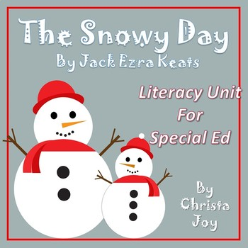The Snowy Day Literacy Unit for Special Education