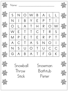 the snowy day pdf download