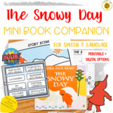 The Snowy Day Mini Book Companion for Speech Therapy | DIG