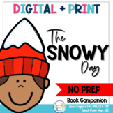 The Snowy Day: NO PREP Speech and Language Book Companion