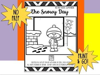 The Snowy Day:  No Prep Book Companion