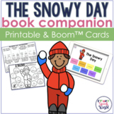 The Snowy Day:  No Prep Speech & Language Activities
