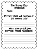 The Snowy Day Prediction Freebie