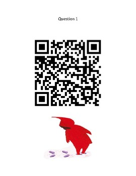 The Snowy Day - QR Code Scavenger Hunt - Winter