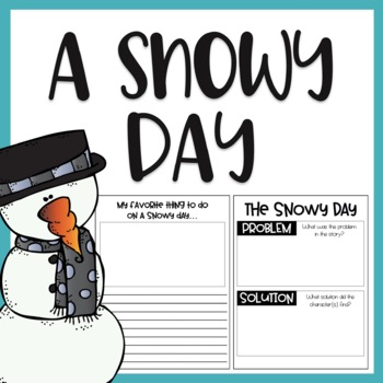 The Snowy Day / Read Aloud Book Companion