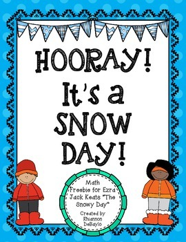 """The Snowy Day"" SNOW DAY Tens Frame FREEBIE!"