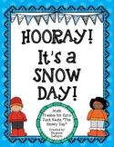 """""""The Snowy Day"""" SNOW DAY Tens Frame FREEBIE!"""