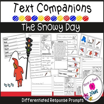 The Snowy Day Text Companion *Differentiated Writing Response Prompts*