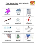 The Snowy Day Vocabulary Word List