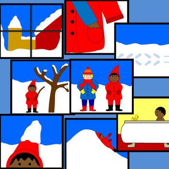 The Snowy Day book companion - Common Core aligned
