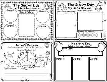 The Snowy Day by Ezra Jack Keats (Book Companion)