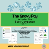 The Snowy Day by Ezra Jack Keats Language Literacy Packet