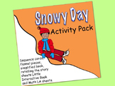 The Snowy Day Activity Pack:  sequence cards, flannel piec