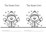 The Snowy Day emergent reader with touch dots for touch reading