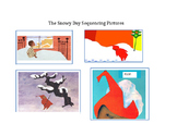 The Snowy Day sequencing pictures