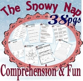 The Snowy Nap Jan Brett * Winter Read Comprehension Book Companion Activity Pack