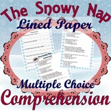 The Snowy Nap Jan Brett * Winter Reading Comprehension Questions Multiple Choice
