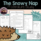The Snowy Nap: Literacy Activities
