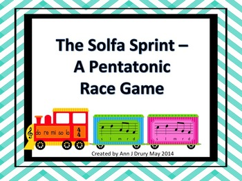 The Solfa Sprint - A Race Game to Practice Pentatonic