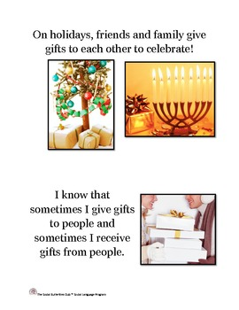 Giving  and Receiving Gifts Life Lesson Story