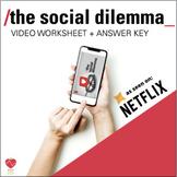 The Social Dilemma Netflix Documentary: 30 Question Worksh