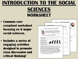 Introduction to the Social Sciences worksheet