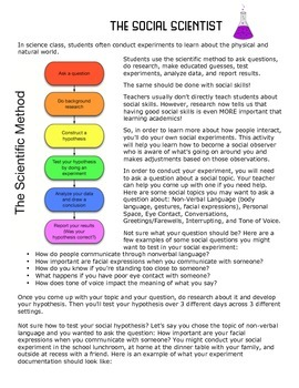The Social Scientist: Strengthen Social Skills By Conducting Social Experiments!