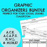 The Social Studies Primary Source Graphic Organizer Bundle