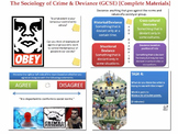 The Sociology of Crime & Deviance (GCSE Sociology) [OVER 6