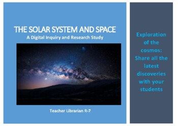 Solar System and Space: Digital Inquiry and Research Study