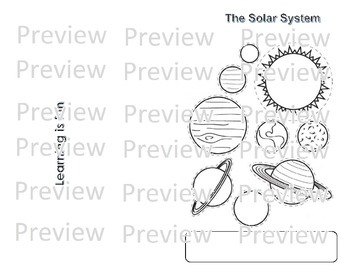 The Solar System Mini Book (English)