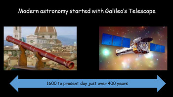 The Solar System - 2 lessons - the Solar System and The Age of Discovery