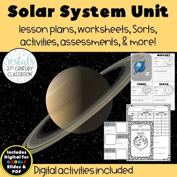 The Solar System {Digital & PDF Included}