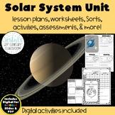 The Solar System {Digital & PDF Included}