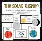 The Solar System - 32 Posters/Flashcards