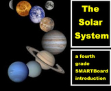 The Solar System - A Fourth Grade SMARTBoard Introduction