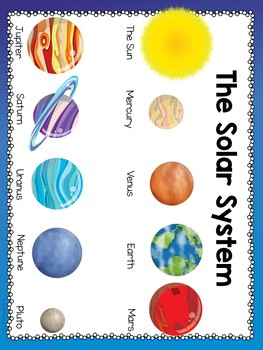 The Solar System Activities for K-2