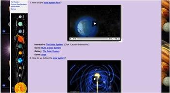 Solar System AQ NGSS MS-ESS1-1, MS-ESS1-2, MS-ESS1-3.