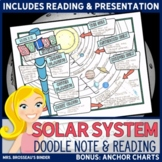 The Solar System - Astronomy, Science Doodle Notes