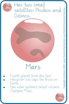 Solar System Card Game