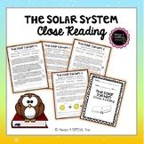 The Solar System Close Reading