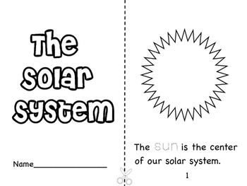 Solar system coloring pages teaching resources teachers pay teachers solar system coloring booklet solar system coloring booklet ccuart Images