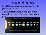 The Solar System (Earth, Moon, Planets, Galaxies, Stars) Astronomy Power Point