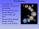 The Solar System (Earth, Moon, Planets, Galaxies, Stars) A