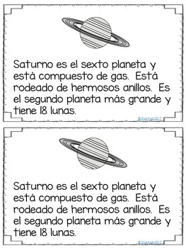 The Solar System IN SPANISH for K-2