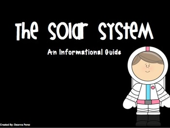 The Solar System Informational PowerPoint