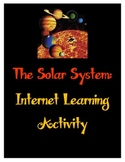 The Solar System - Internet Reading Comprehension Activity