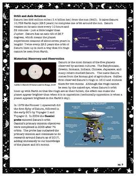 The Solar System // Jupiter and Saturn