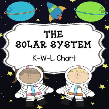 The Solar System  KWL Chart