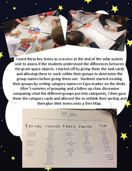 The Solar System Key Terms Sorting Activity SC.5.E.5.3